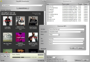 Easy Mp3 Downloader - náhled