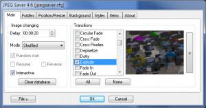 JPEG Saver - náhled