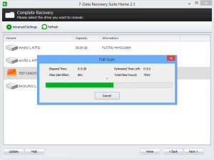 7-Data Recovery Suite  - náhled