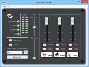 Jamulus - náhled