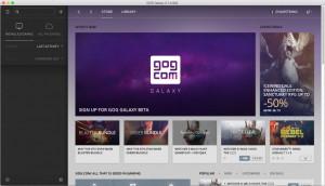 GOG Galaxy - náhled