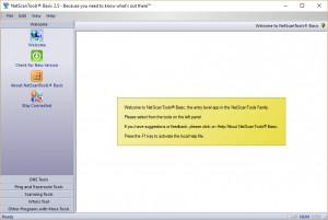 NetScanTools Basic - náhled
