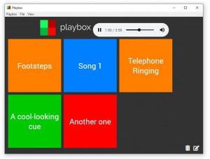 Playbox - náhled