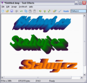 Text Effects - náhled