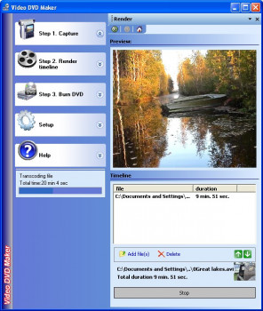 Video DVD Maker Free - náhled