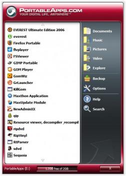 PortableApps - náhled