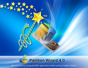 Partition Wizard - náhled