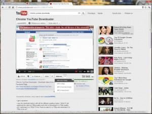 Chrome YouTube Downloader - náhled