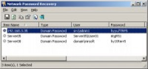 Network Password Recovery - náhled