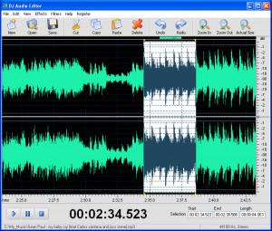 DJ Audio Editor - náhled