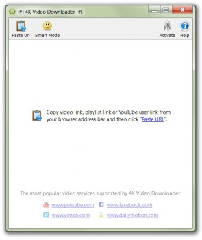 4K Video Downloader - náhled