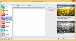 Hornil Photo Resizer - náhled