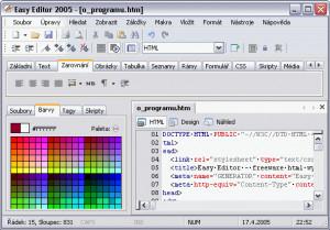Easy Editor 2005 - náhled