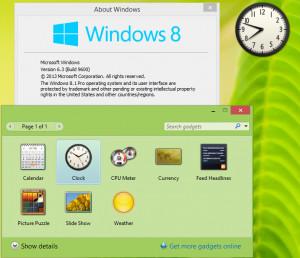Windows Desktop Gadgets - náhled