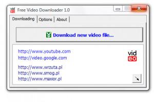 Free Video Downloader - náhled