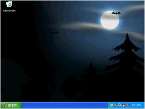 Animated Halloween Desktop Wallpaper - náhled