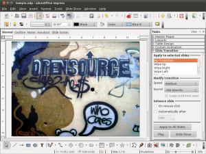 LibreOffice - náhled
