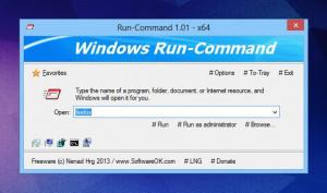Run-Command  - náhled