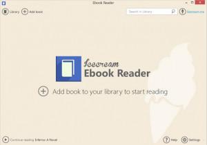 Icecream Ebook Reader - náhled