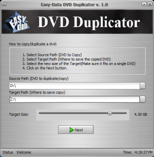 Easy-Data DVD Duplicator - náhled