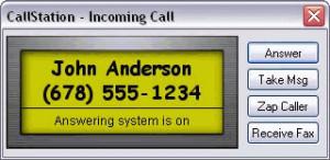 CallStation - náhled