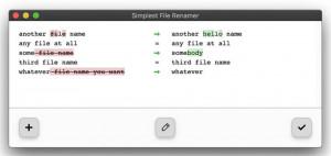 Simplest File Renamer - náhled