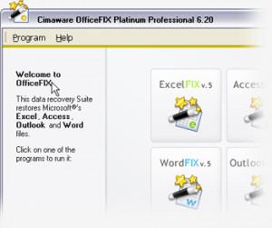 OfficeFix - náhled