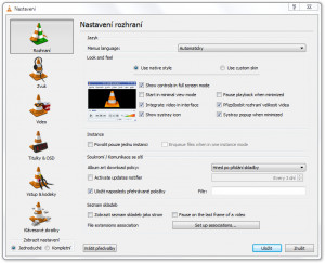 VLC Media Player - náhled