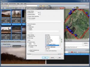 GeoSetter - náhled