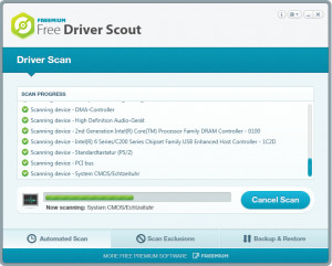 Free Driver Scout - náhled