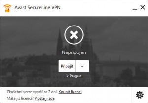 Avast SecureLine VPN - náhled