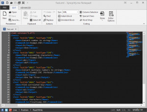 Syncplify.me Notepad! - náhled