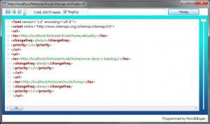 Large XML Viewer - náhled