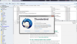 Mozilla Thunderbird - náhled