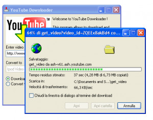 YouTube Downloader - náhled