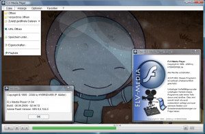 FLV-Media Player - náhled