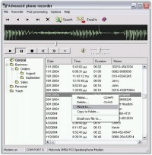 Advanced Phone Recorder - náhled