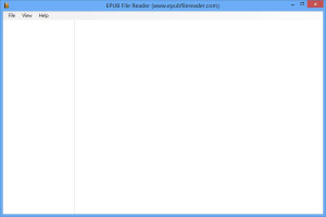 EPUB File Reader - náhled