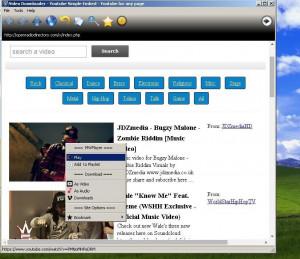 Online Video Downloader - náhled