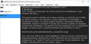 BadWrite - náhled