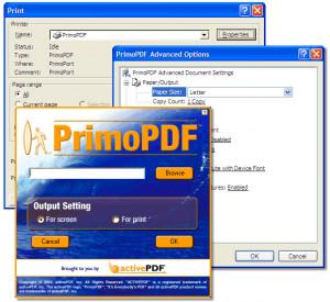 PrimoPDF - náhled