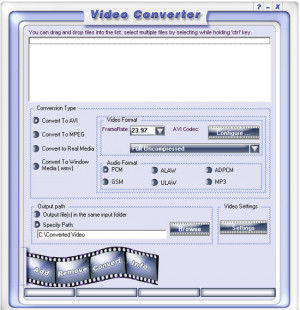Free Video Converter - náhled