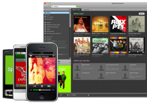 Spotify - náhled