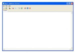 Email Address Filter - náhled
