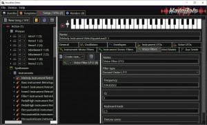 WaveBots Editor - náhled