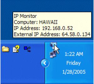Barefoot IP Monitor - náhled