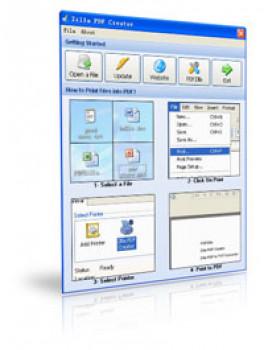 Zilla PDF Creator - náhled