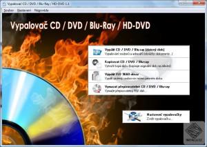 Vypalovač CD/DVD/Blu-Ray/HD-DVD - náhled