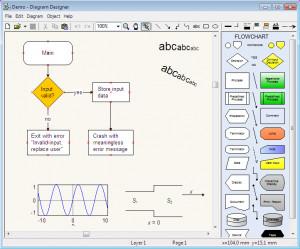 Diagram Designer - náhled