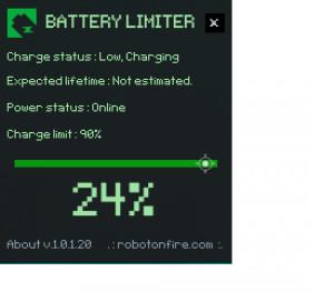 Battery Limiter - náhled